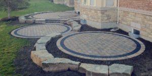 round patio bricks